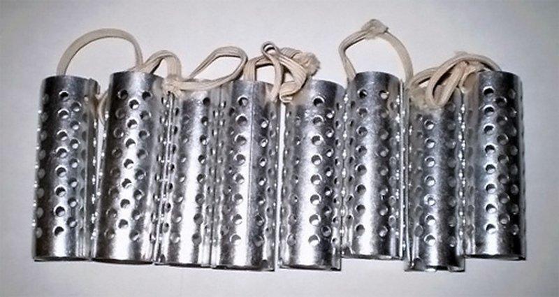 Металлические бигуди. (алюминиевые) Вещи и механизмы, Приметы прошлого, СССР