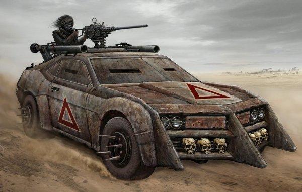 Машины для апокалипсиса! Реальные образцы и фантазии