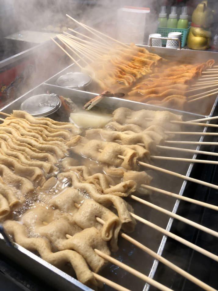 5. Рыбная паста: $2 еда, еда быстро, сеул, уличная Еда, уличная еда, фастфуд, южная корея