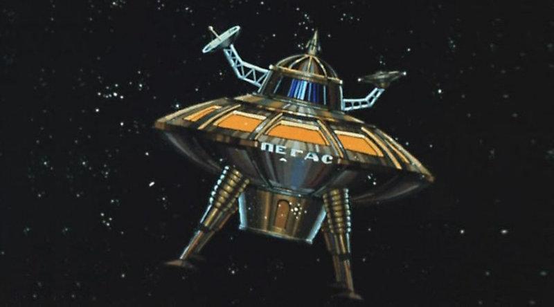"""""""Тайна третьей планеты"""" - Пегас star trek, вавилон, звездные войны, звездные корабли. космос, интересное, сравнение, фото"""