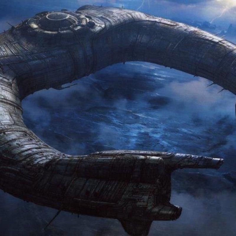 И еще немного кораблей. Прометей star trek, вавилон, звездные войны, звездные корабли. космос, интересное, сравнение, фото