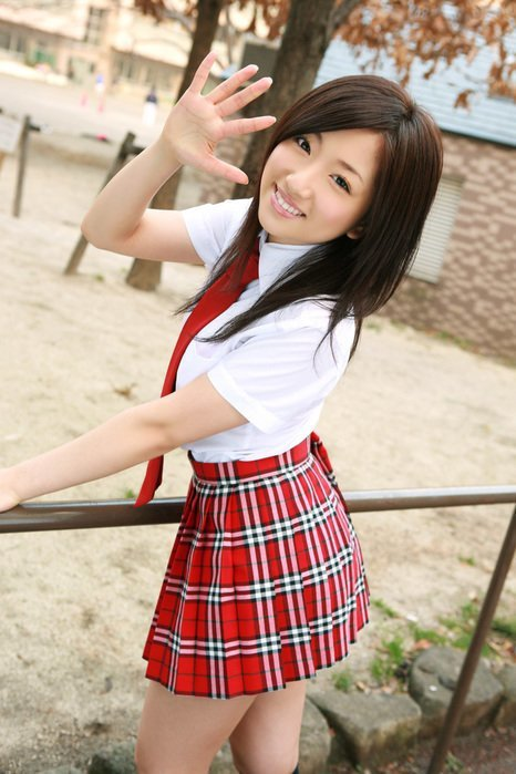 Радует, что форма у них в разная mini, азиатки, азиатки в юбках, девушки, китаянки, кореянки, японки