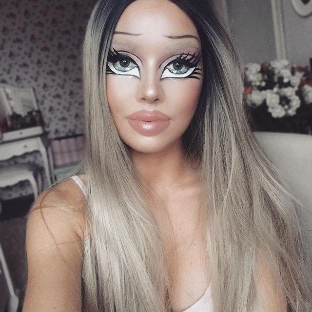 Визажист-самоучка из Литвы превращает свое лицо в яркие иллюзии Моника Фальчик, визажист, грим, иллюзия, красота, люди, макияж, художник
