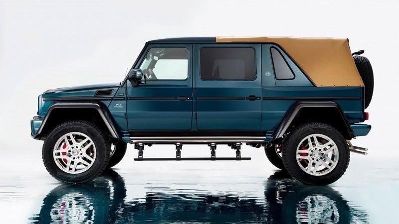 Детишкам по машинке. Mercedes-Maybach Landaulet G650 с сердцем AMG V12, табуном в 621 лошадь и ограниченным тиражом в 99 авто.   $1,500,000 богато, вещи, дорого, миллиардеры, покупки