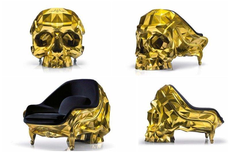 Кресло из золота от Harow  $500,000+ богато, вещи, дорого, миллиардеры, покупки