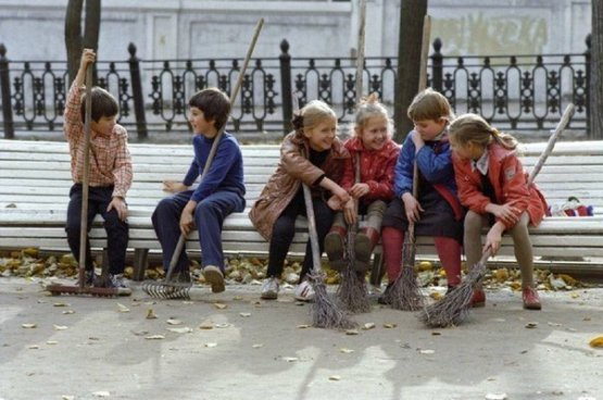 Субботник, 1980-е СССР, история, фотографии