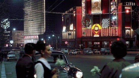 Улица Горького, Москва, 1969 год СССР, история, фотографии