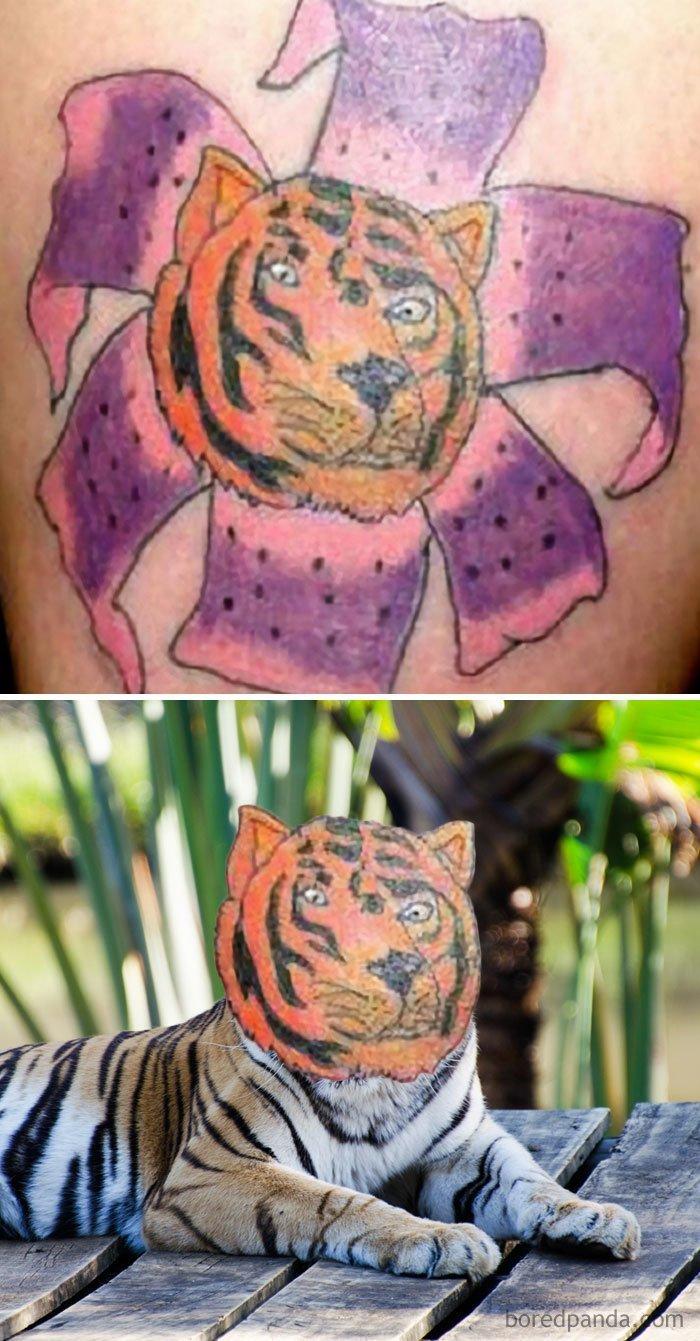 19 одно лицо 35 оживших татуировок настолько плохо что даже