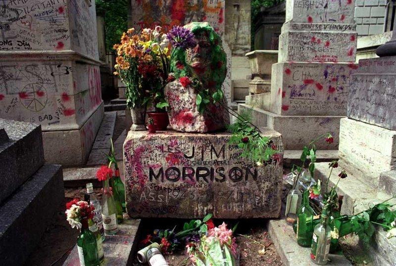 Джим Моррисон дикая история, легенда, могила, покой, смерть, странности