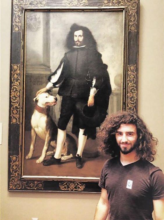 14. Собаки не хватает для полного комплекта. Веселые, музей, портрет, произведение искусства, реинкарнация, фантазия