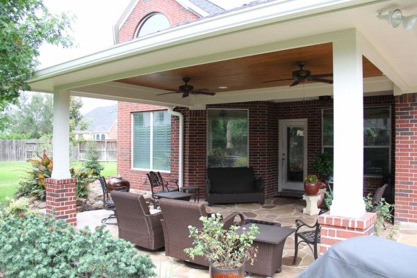 texas outdoor living covered patios Patio Covers, Outdoor Kitchens, Fire Features in Katy, TX