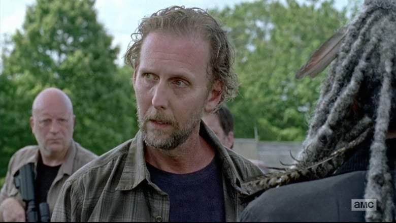 Jayson Warner Smith on The Walking Dead