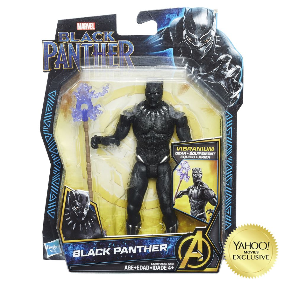 Marvels Black Panther Action Figures Offer First Look At