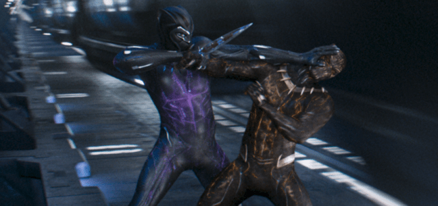 TChalla Battles Killmonger In Clip From Marvels Black