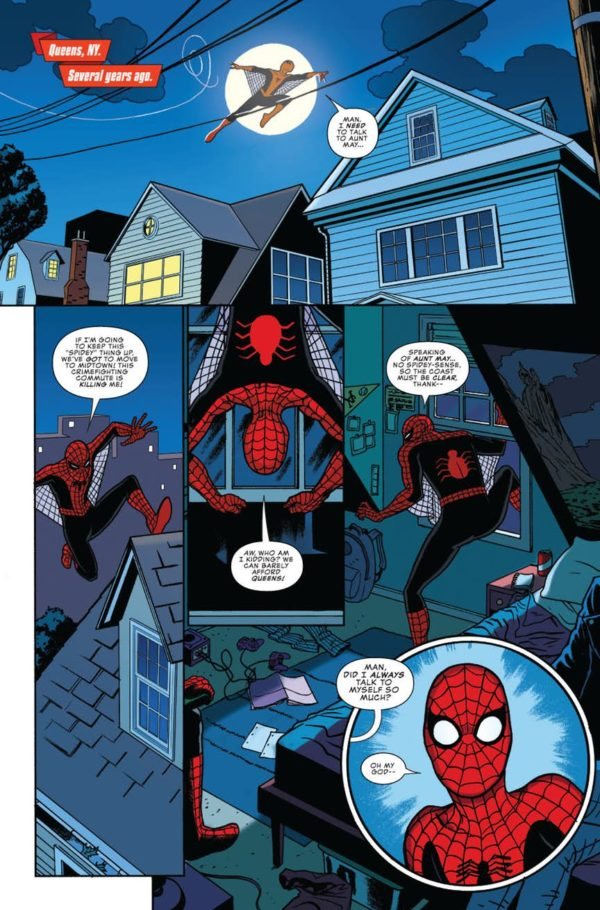 Amazing Fantasy Begins In Peter Parker The Spectacular