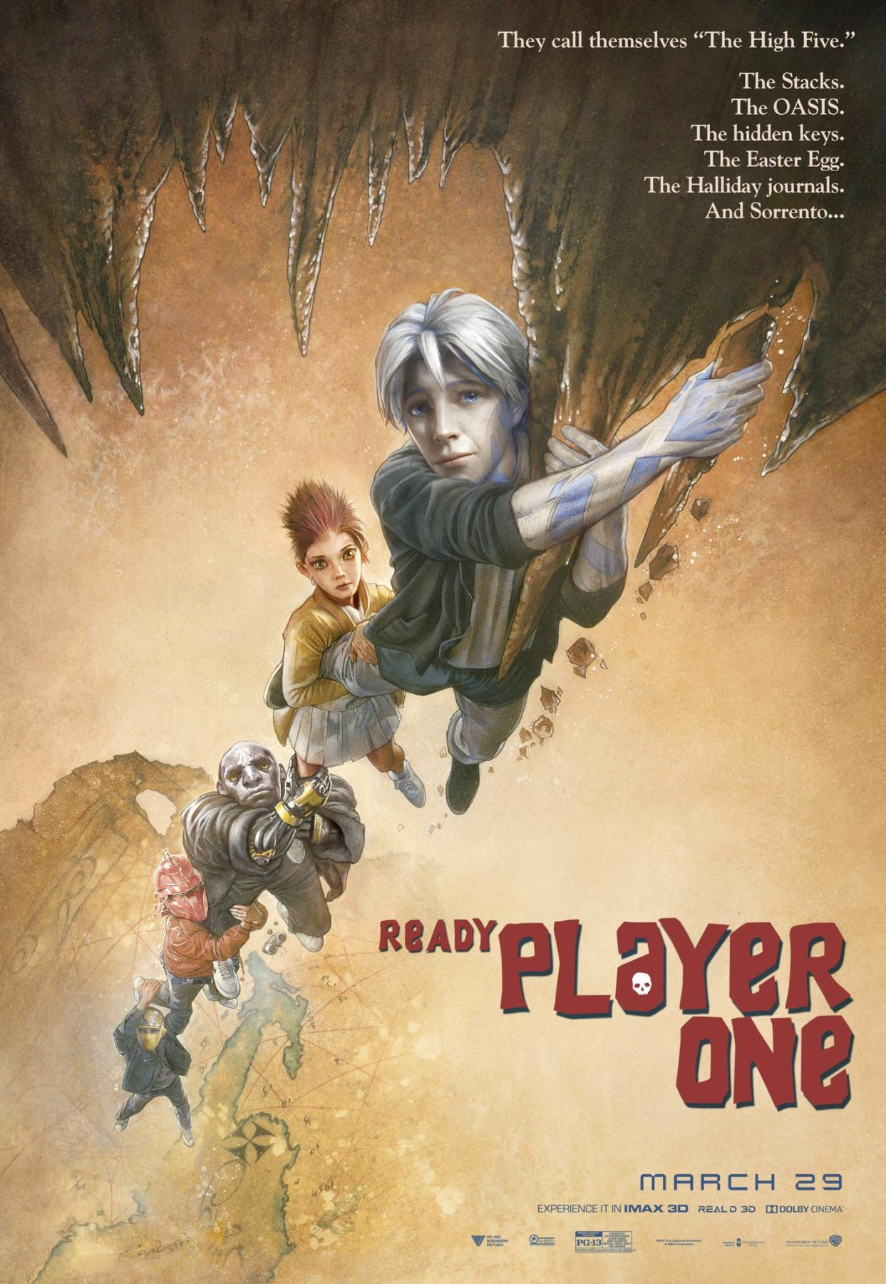 Ready Player One Pays Homage To Classic Movie Posters Flickering Myth