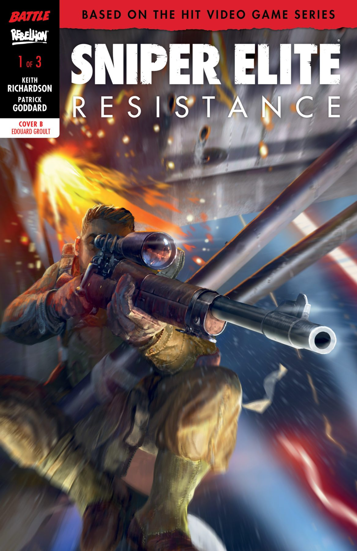 Rebellion To Launch Sniper Elite Comic Book This August Flickering Myth