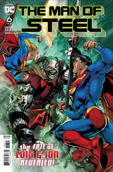 The Man of Steel Issue 6 Review