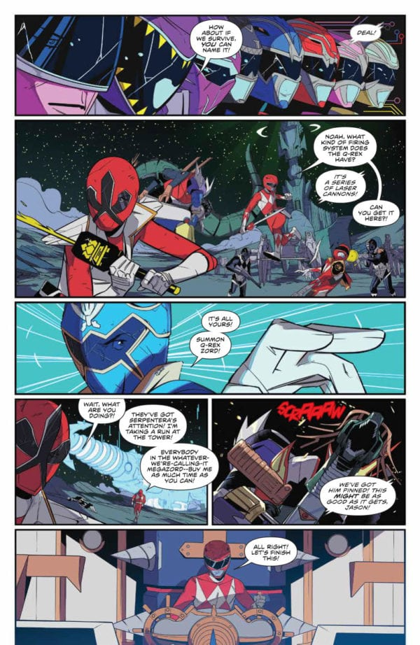 Preview Of Mighty Morphin Power Rangers Shattered Grid 1