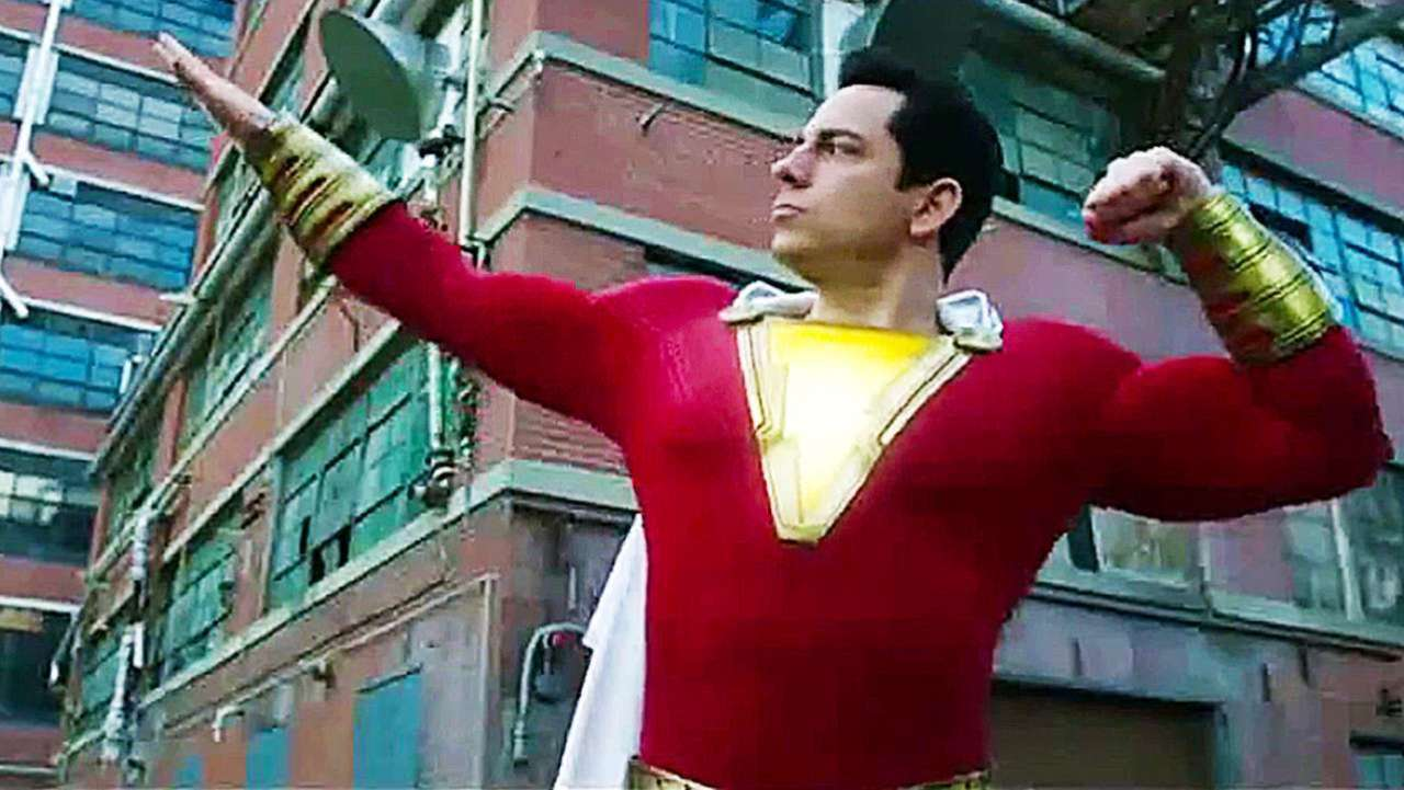 Shazam Puts His Powers To The Test In New TV Spot Flickering Myth