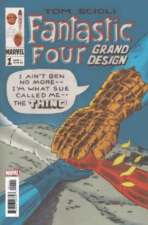 Image result for fantastic four grand design #1