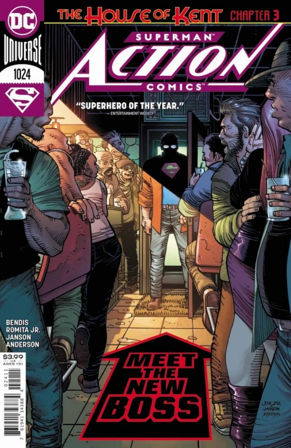 Comic Book Preview - Action Comics #1024