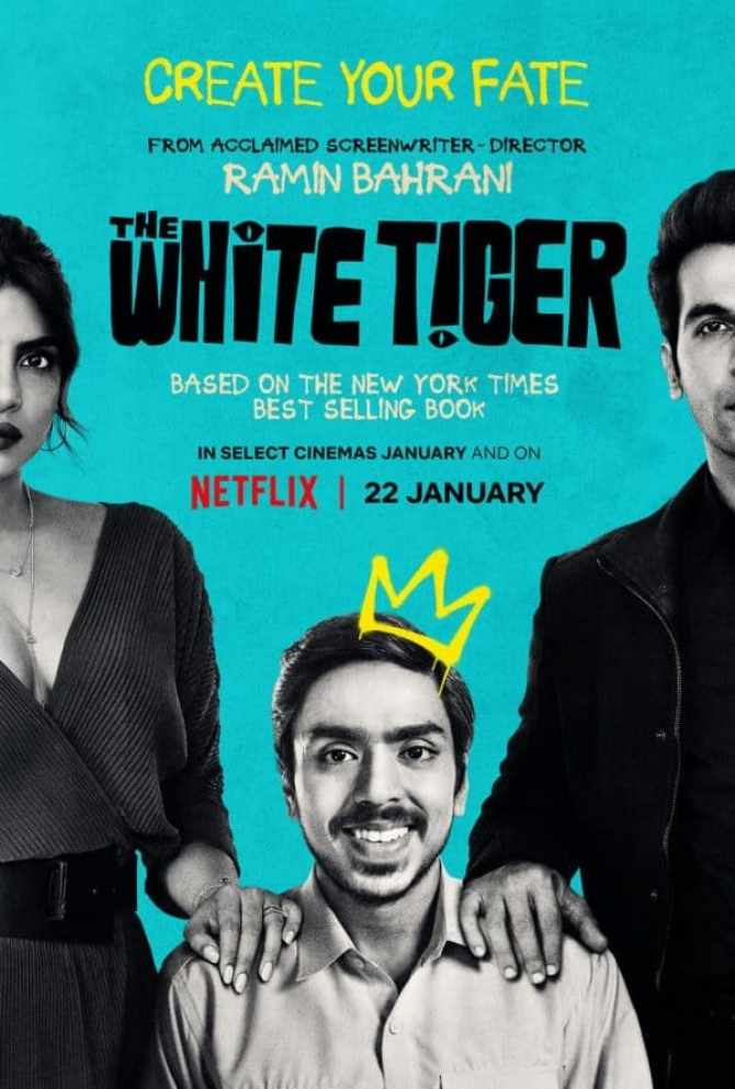 The White Tiger gets a trailer and poster from Netflix