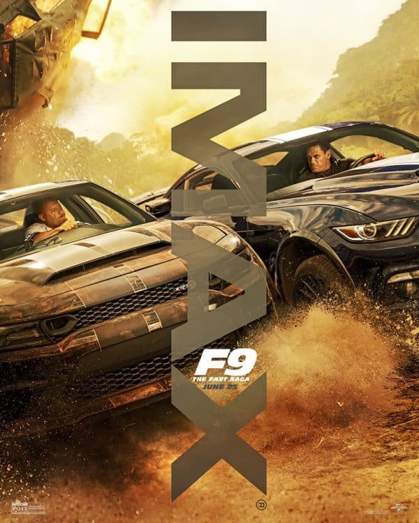 imax poster for fast furious 9 released