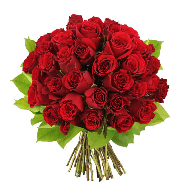 bouquet de 40 roses rouges