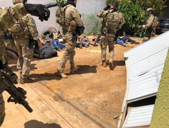 Operação prendeu 11 pessoas em flagrante
