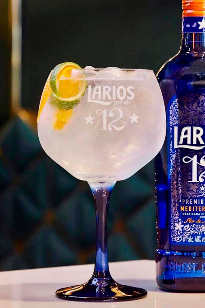 Larios 12 gin & tonic day of the dead