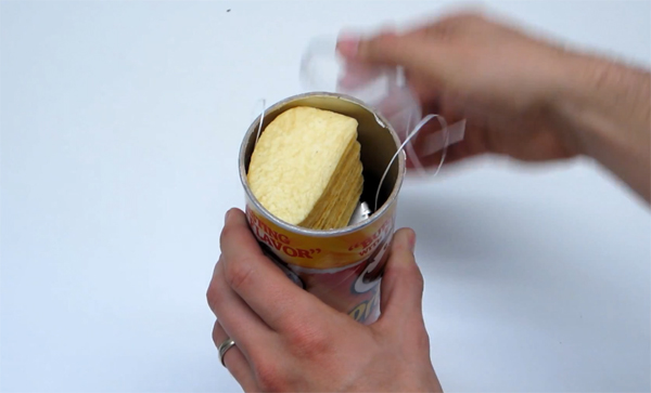Heres How To Make A Push Up Pringles Can