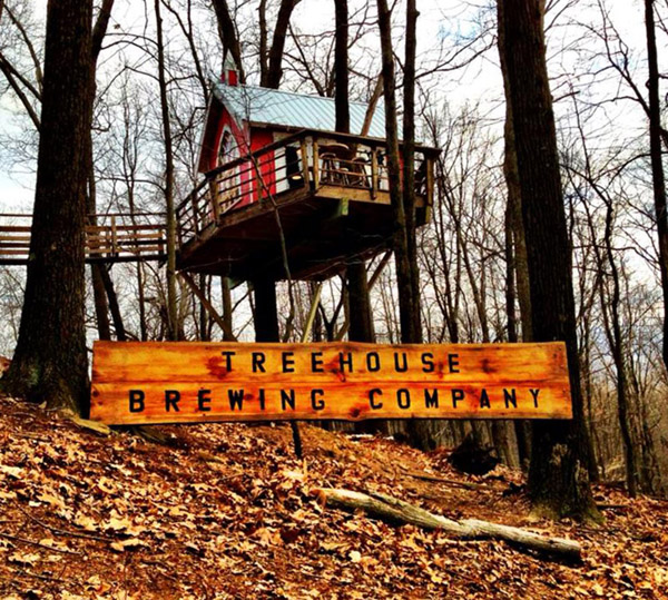 This Tiny Treehouse Is Actually A Microbrewery And It Is