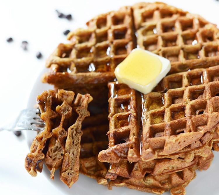 Pumpkin Latte Waffle-