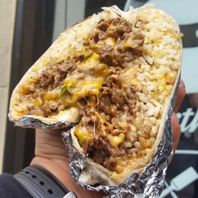 The Teriyaki Cheesesteak Burrito: California's Answer To