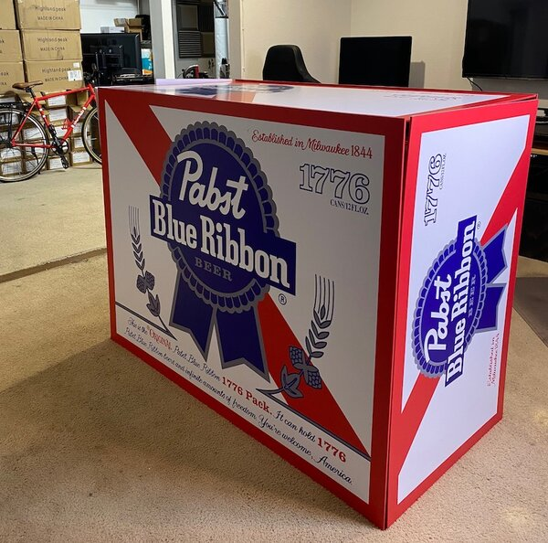 Pabst Blue Ribbon Introduces A Pack of 1,776 Beers For 4th of July