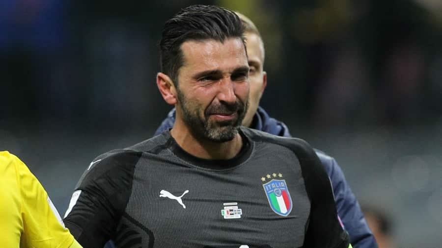 Italy World Cup Buffon