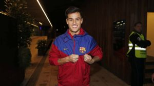 Pihilippe Coutinho unvelived by FC Barcelona