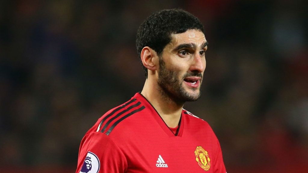 marouane fellaini nears departure of Manchester United to the Chinese Super League on transfer deadline day