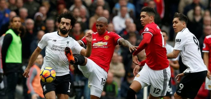 Image result for Ashley Young and salah
