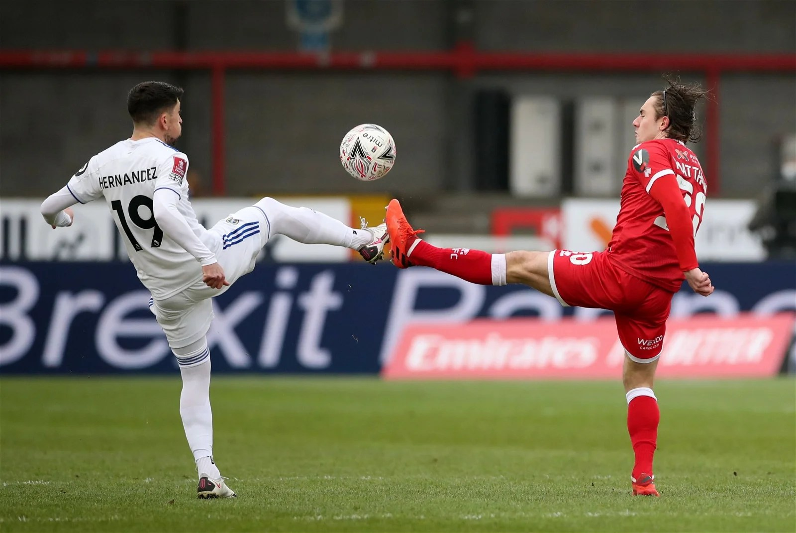 Crawley Town 3-0 Leeds: Pablo Hernandez in abject form on Sunday