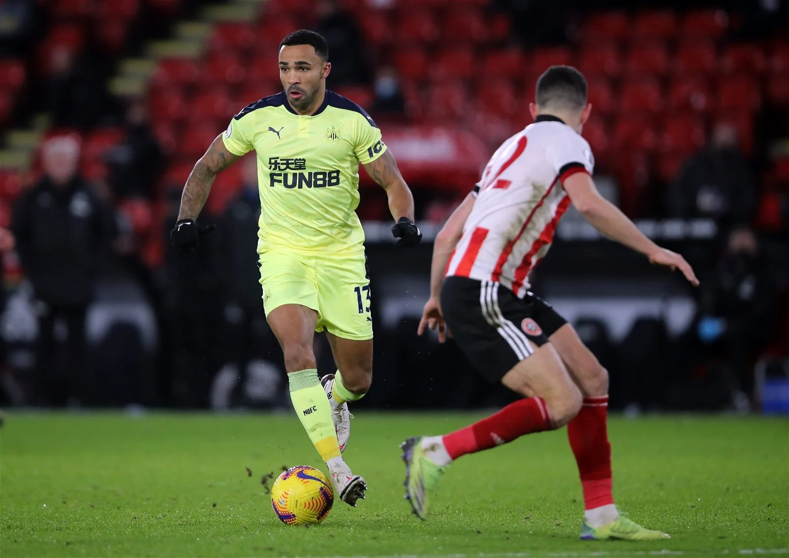 Callum Wilson was awful in Newcastle defeat