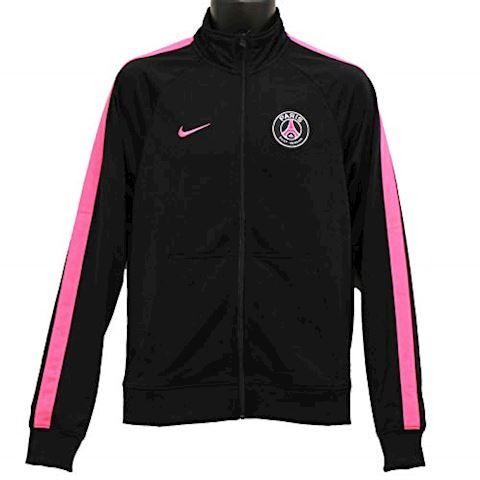 nike paris saint germain training jacket nsw crew black hyper pink