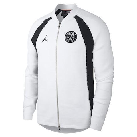 nike psg flight knit men s full zip jacket white