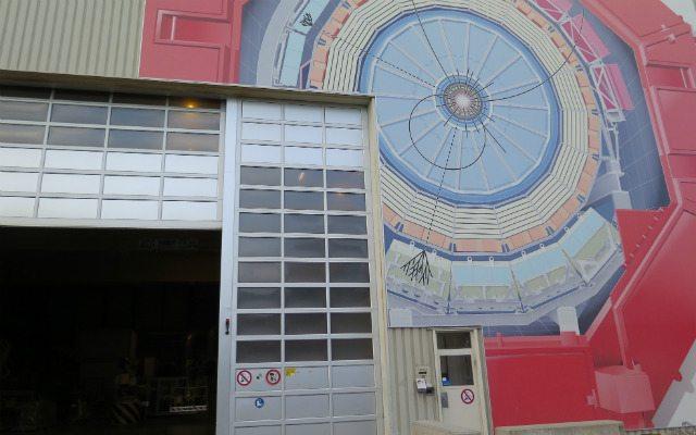 Imagen del exterior del experimento ALICE.