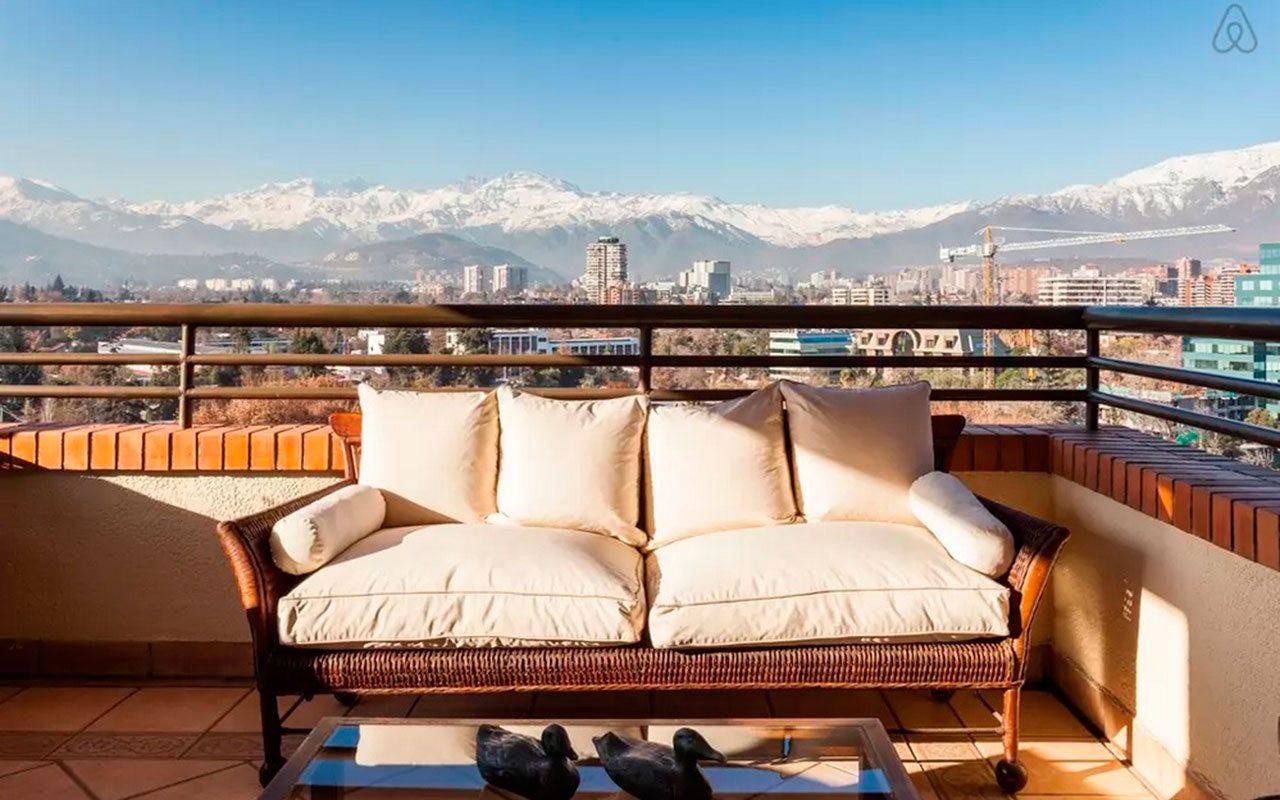 Alojamiento Airbnb en Santiago
