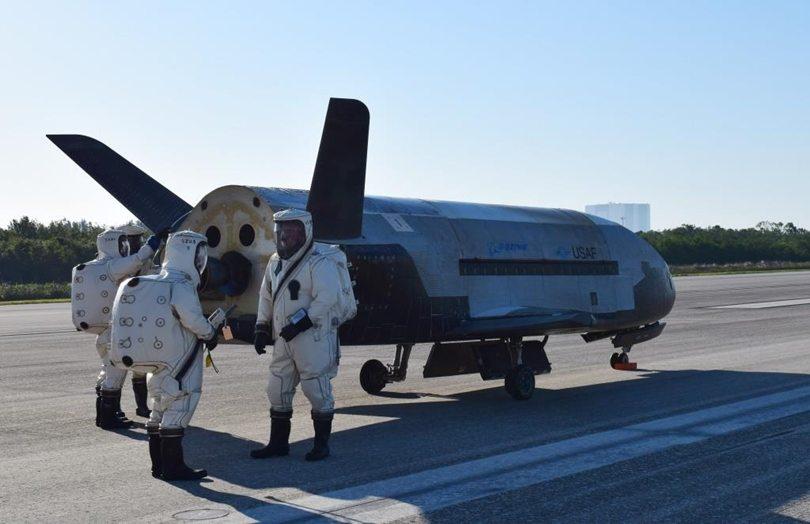 avión espacial X-37B
