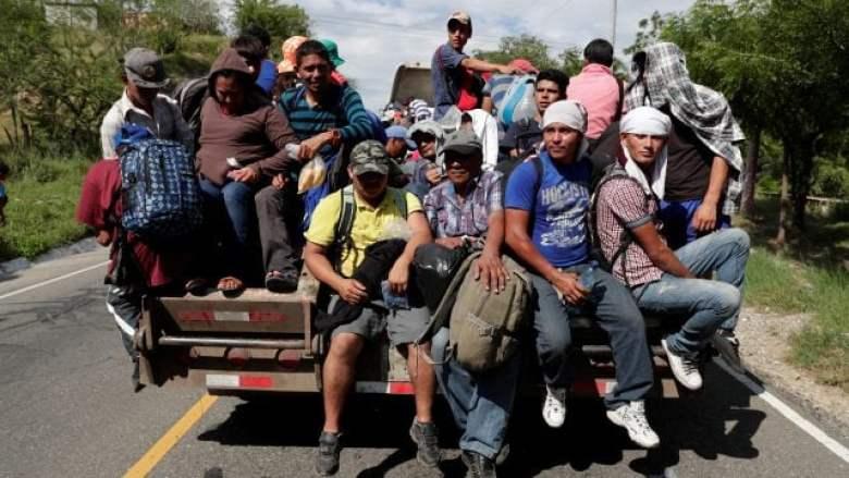 La caravana migrante empieza a llegar a la Ciudad de México y ...