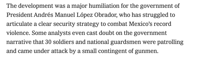 NYT-Humillación