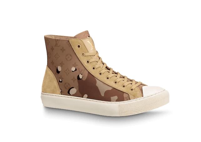 LV Tattoo sneaker, en este caso, inspiradas en las Converse Chuck Taylor.